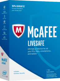 McAfee LiveSafe Crack 2019 + Working Keys Free Download